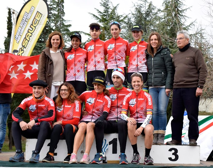 Éxito para Lozano y Hernández en el Ciclocross del Escorial
