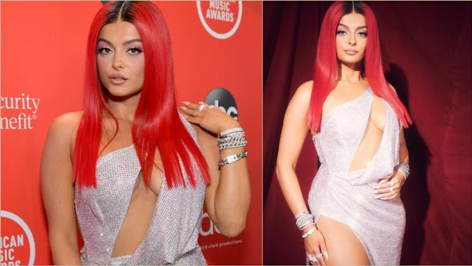 Bebe Rexha publishes a video from the shooting of her body with the dress in 'AMA 2020'