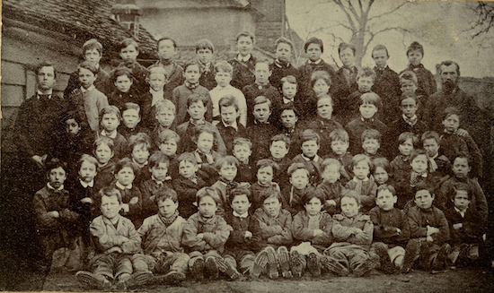 Welham Green Boys School 1880 Photographer unknown, image from the Peter Miller collection