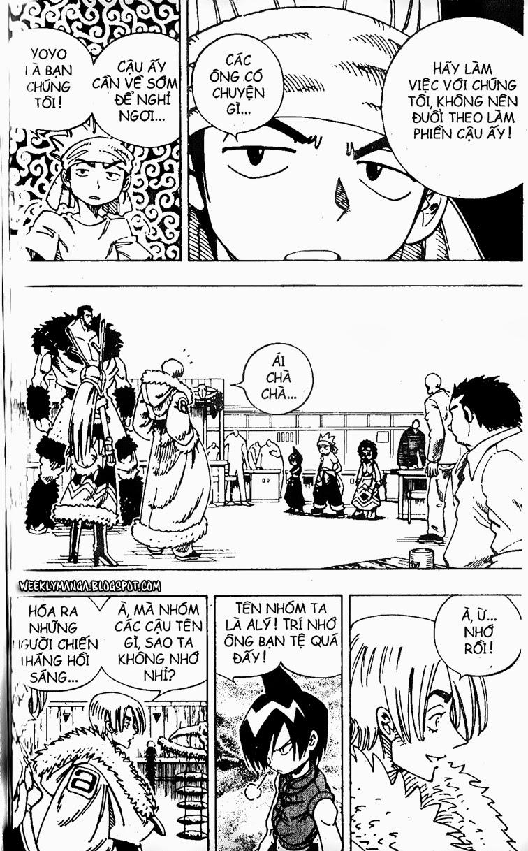Shaman King [Vua pháp thuật] chap 127 trang 7