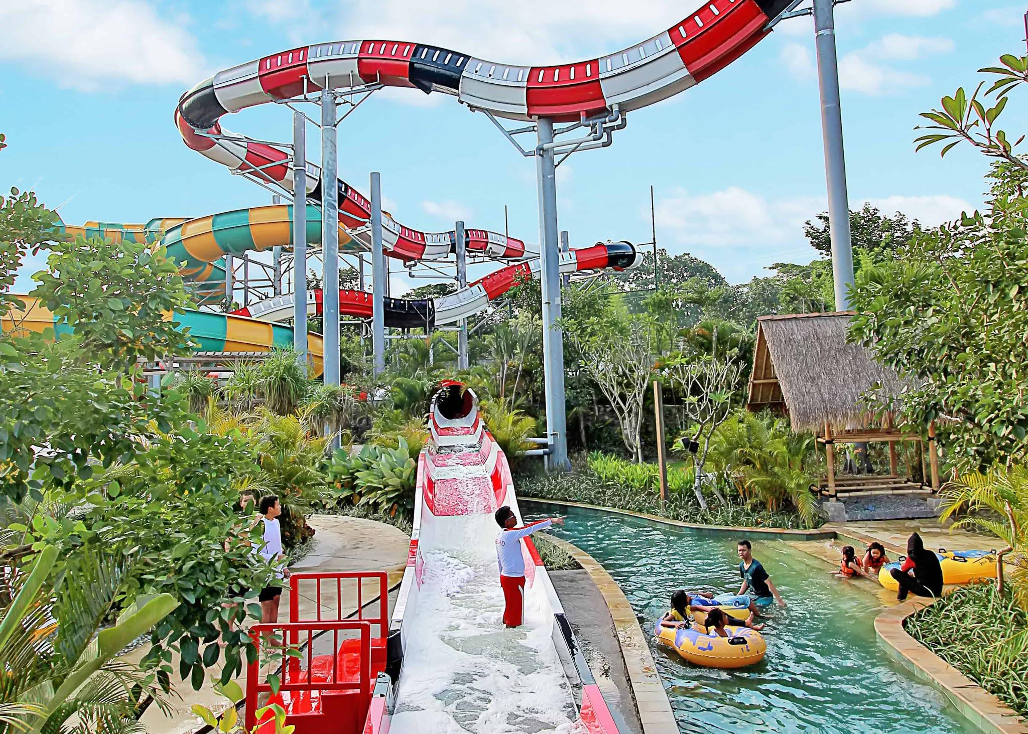 Volcano Coaster Jogja Bay Waterpark
