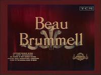 El árbitro de la elegancia: Beau Brumell (1954)