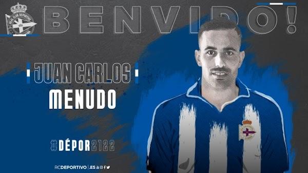 Oficial: Deportivo de la Coruña, firma Menudo