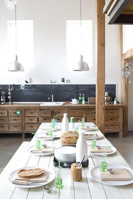 des cuisines authentiques. Black Bedroom Furniture Sets. Home Design Ideas