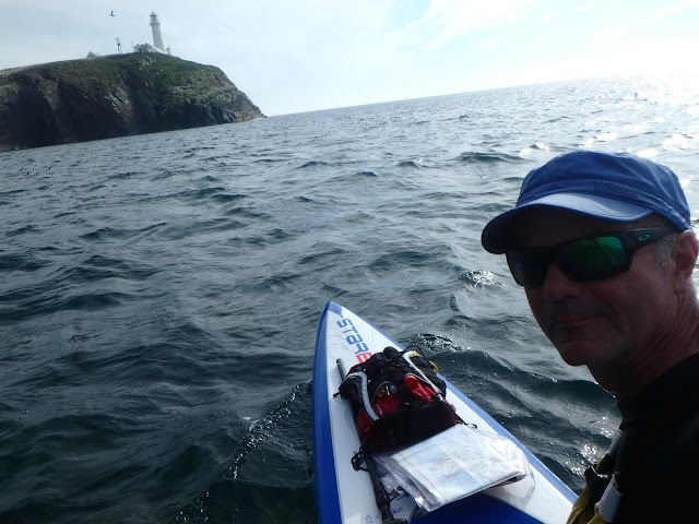 Around Anglesey on a paddleboard solo