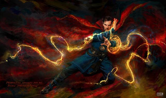 Doctor Strange 2016 Arte conceptual