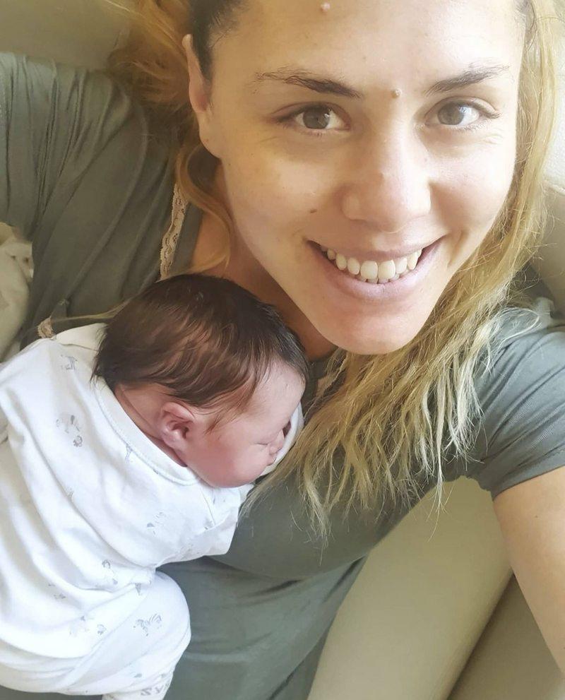 Natalia Duco tuvo a su primer hijo