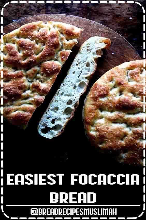 Easiest Focaccia Bread