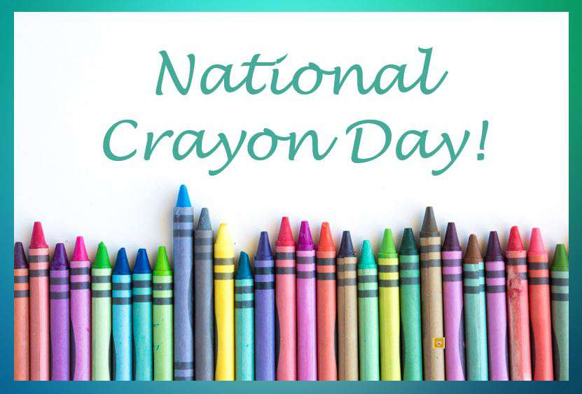National Crayon Day Wishes Images download