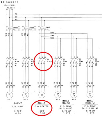 Схема силовой части котла