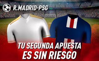 sportium promo champions Real Madrid vs PSG 26 noviembre 2019