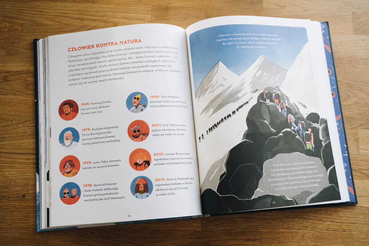 Everest książka dla dzieci