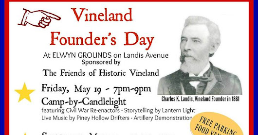NJ Weekend Historical Happenings: 5/20/17 - 5/21/17