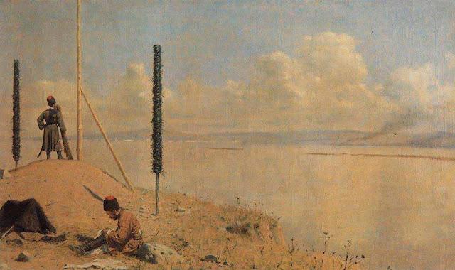 Василий Васильевич Верещагин - Пикет на Дунае. 1878-1879