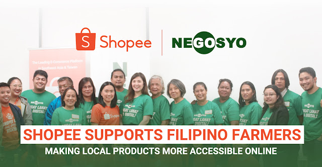 Shopee teams up with Go Negosyo to drive digital agriculture in the Philippines