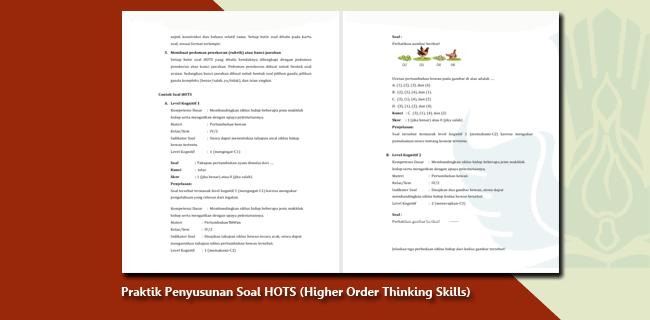 Modul Praktik Penyusunan Soal HOTS (Higher Order Thinking Skills)