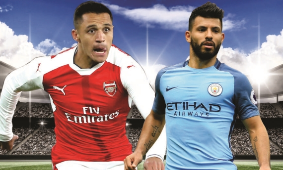 Arsenal will do battle with Manchester City on Sunday in the semi-final of the FA Cup.