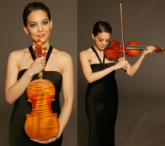 Photos of a Stradivarius Violin
