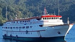 Kapal Baru KM. Merit Teratai Tujuan Manado - Sangihe Tampil Prima, Nyaman Bagi Para Penumpang