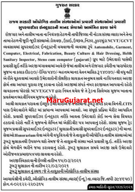 iti-gujarat-recruitment-2021