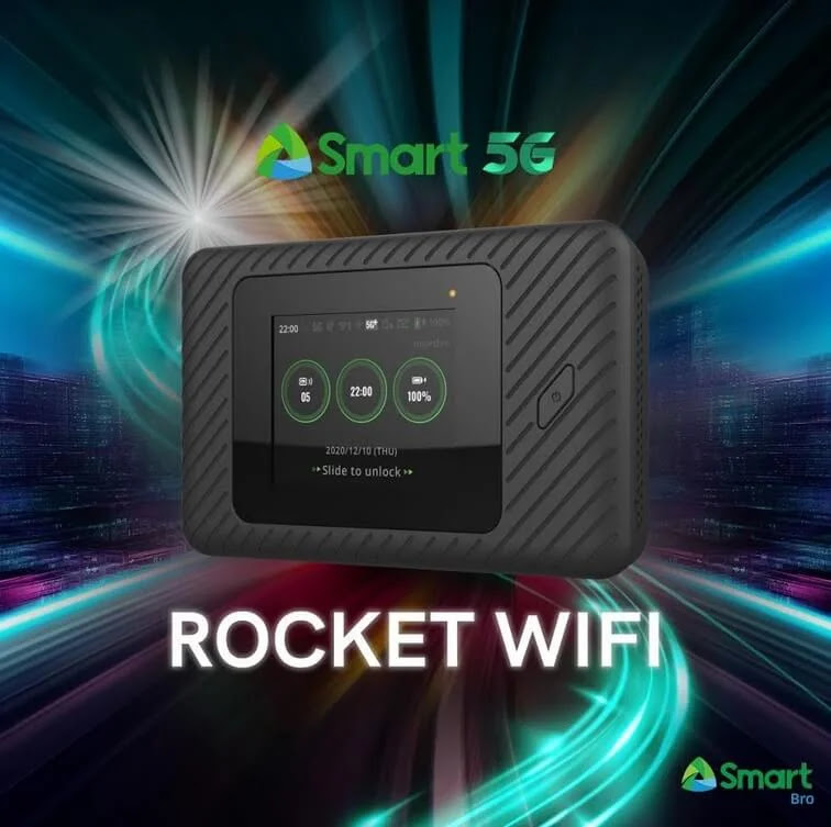 Smart Unveils Rocket WiFi 5G; The Country's First 5G Pocket WiFi