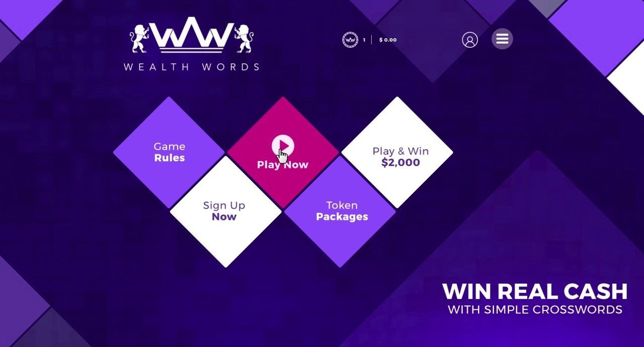 Wealthwords online crossword game
