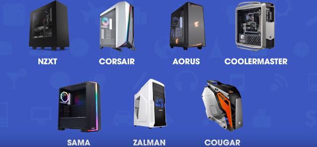 Các loại vỏ Case máy tính để bàn