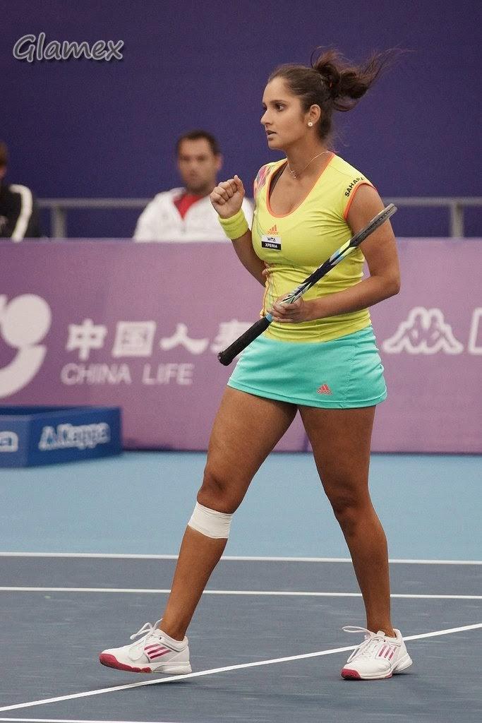 Sania Mirza Hottest Boobs Cleavage Show HD Stills Part 2 - Glamex