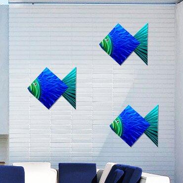 Big Fish Metal Wall Décor