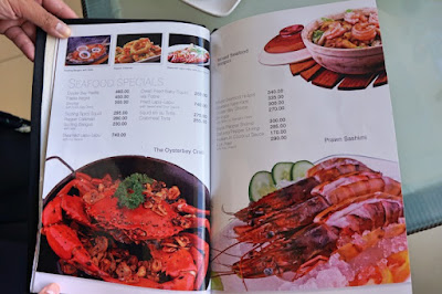 oyster bay seafood restaurant  seafood menu