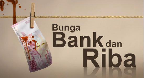 BUNGA BANK DAN KARTU KREDIT ADALAH RIBA