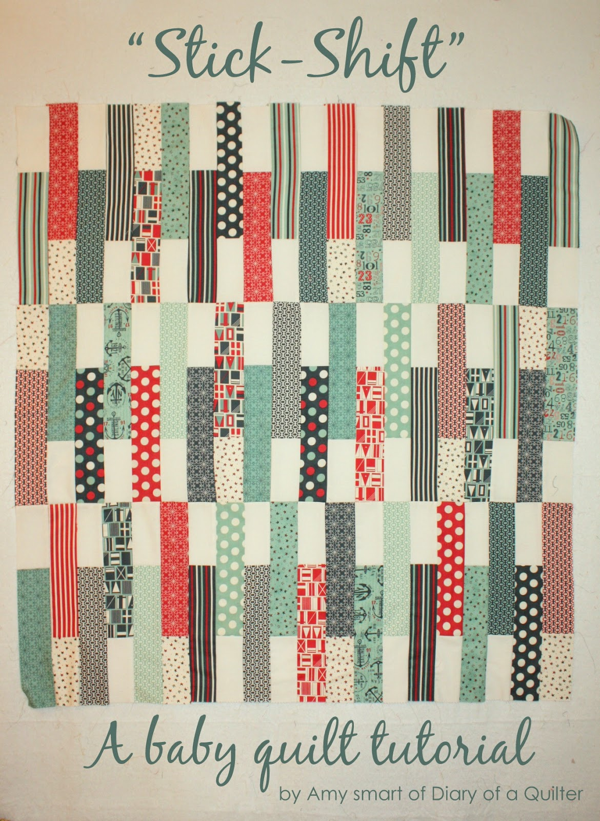 Jolly bars baby quilt tutorial diary of a quilter a quilt blog jolly bars baby quilt tutorial baditri Choice Image