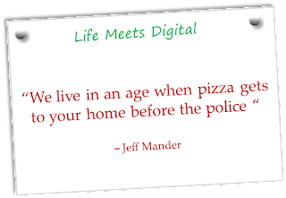 Quote on Pizza and Police