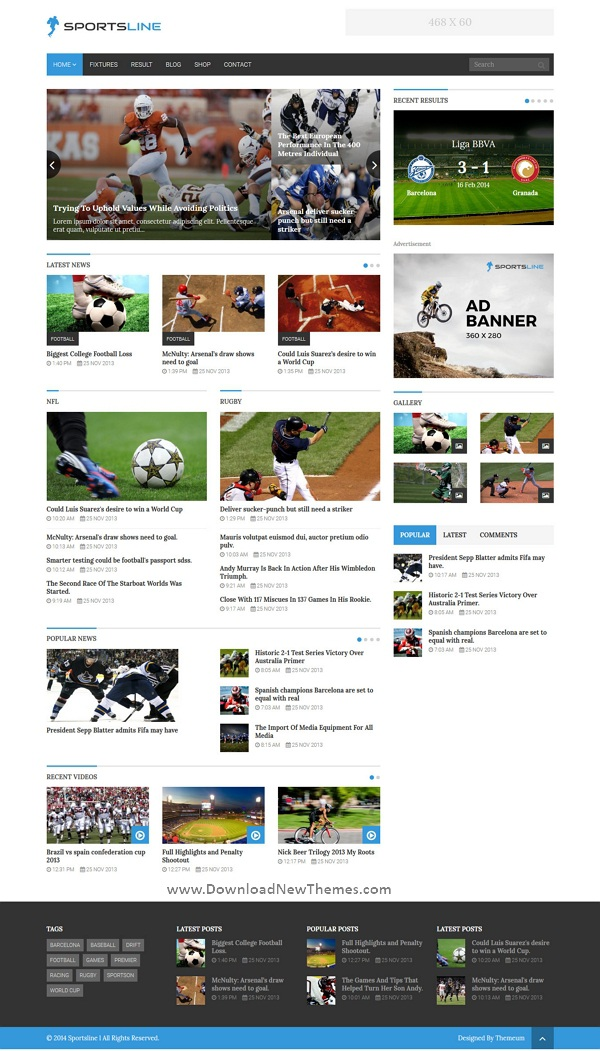 News & Magazine WordPress Theme