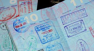 تأشيرة على جواز السفر