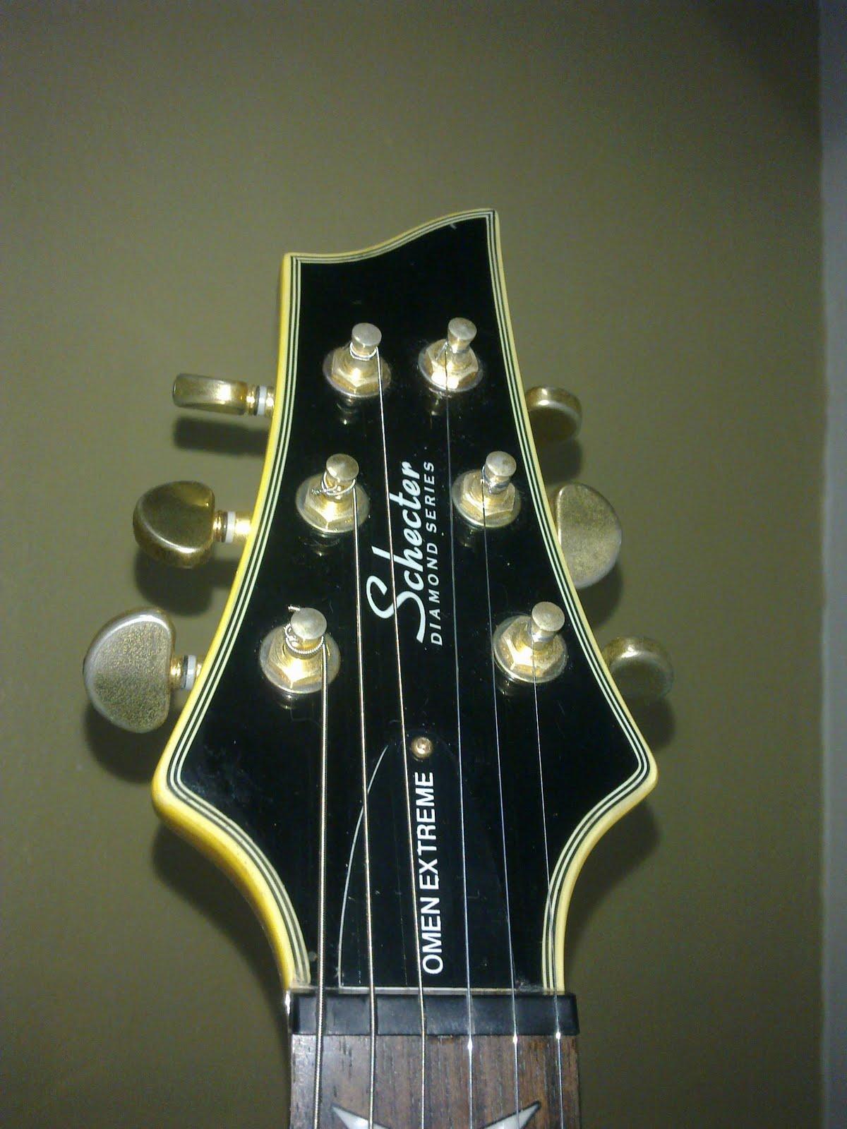 guitar inspires me used schecter omen extreme 6. Black Bedroom Furniture Sets. Home Design Ideas