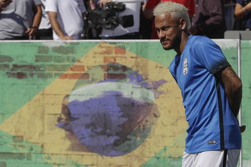 Police dismissed rape charges from Brazilian footballer Neymar