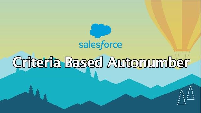 Generate Criteria based Autonumber in Salesforce