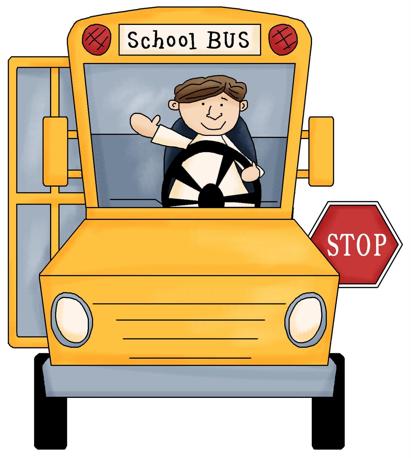 school bus driver clipart - photo #1