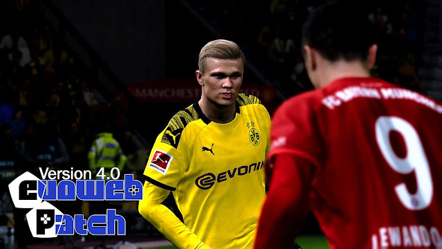 EvoWeb Patch 4.0 For eFootball PES 2020 PC