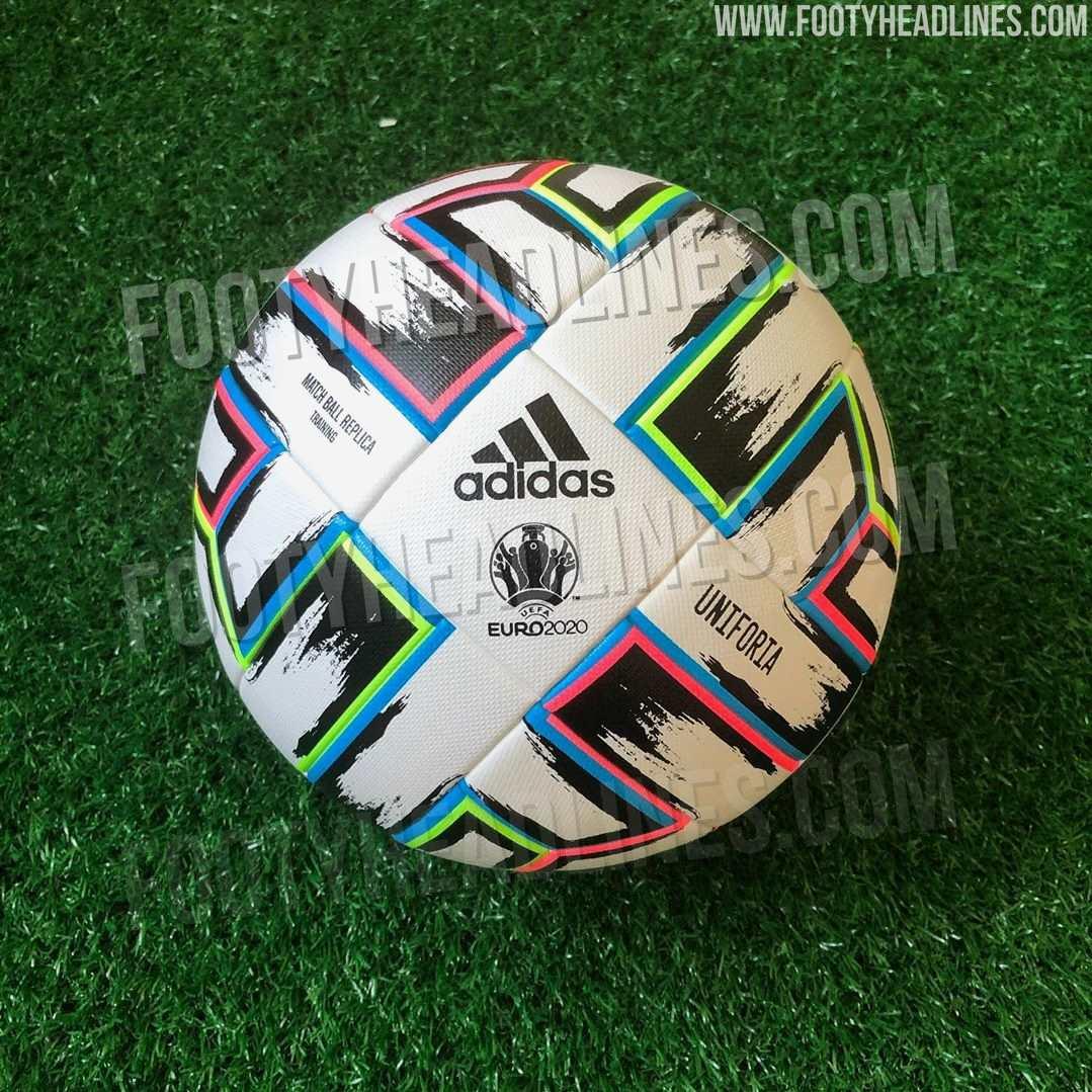 Adidas 'Uniforia' Euro 2020 Ball Leaked - Footy Headlines