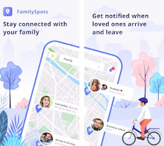 Family Spots Track your live location just 1 minit