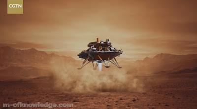 الصين تدخل التاريخ بعد نجاح هبوط مركبتها الفضائية على سطح المريخ !