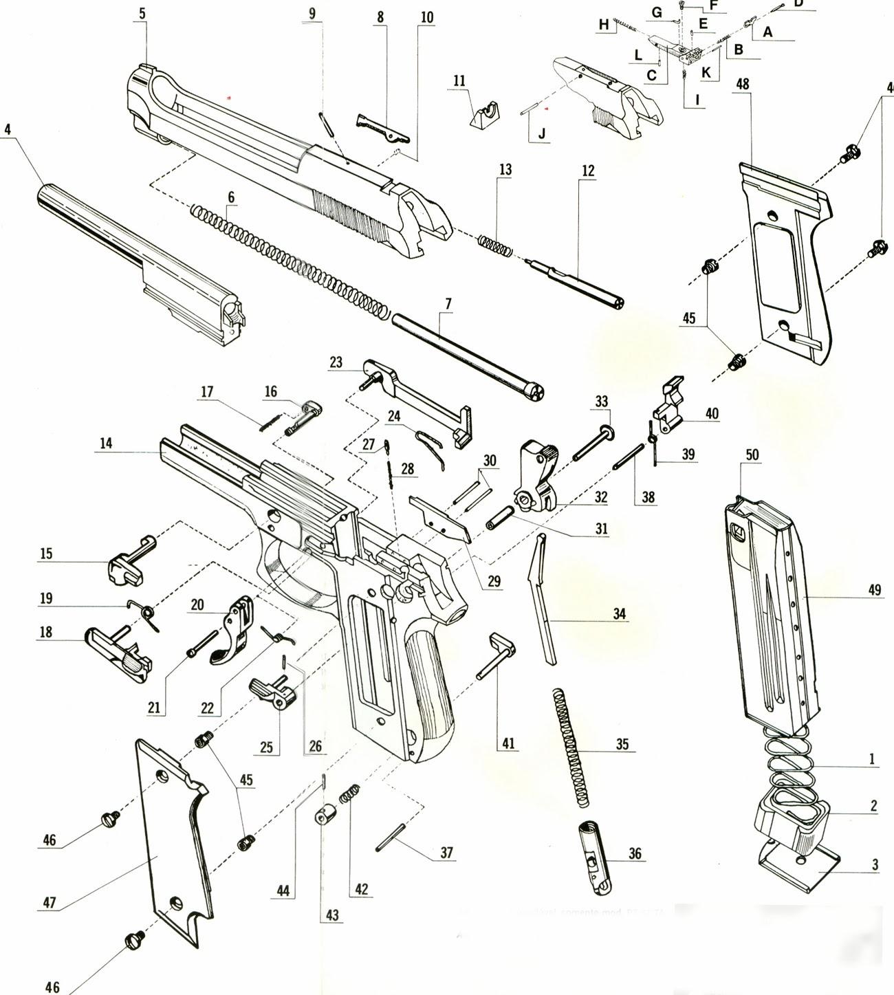 Tiro Recarga E Fabricacao De Projeteis Esquemas De Armas Explodias