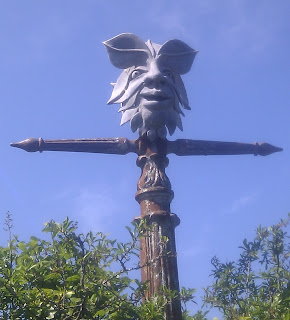 The Green Man, on NCN 27 (Devon Coast to Coast) in Cattedown