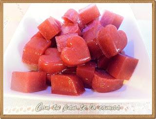 Gominolas de fresas