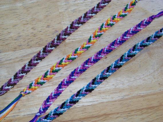 1980s Woven Friendship Bracelets