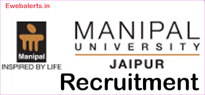Manipal University Jaipur Recruitment