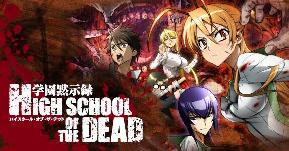 Highschool of the Dead - Top Anime Like Shingeki no Kyojin (Attack on Titan)