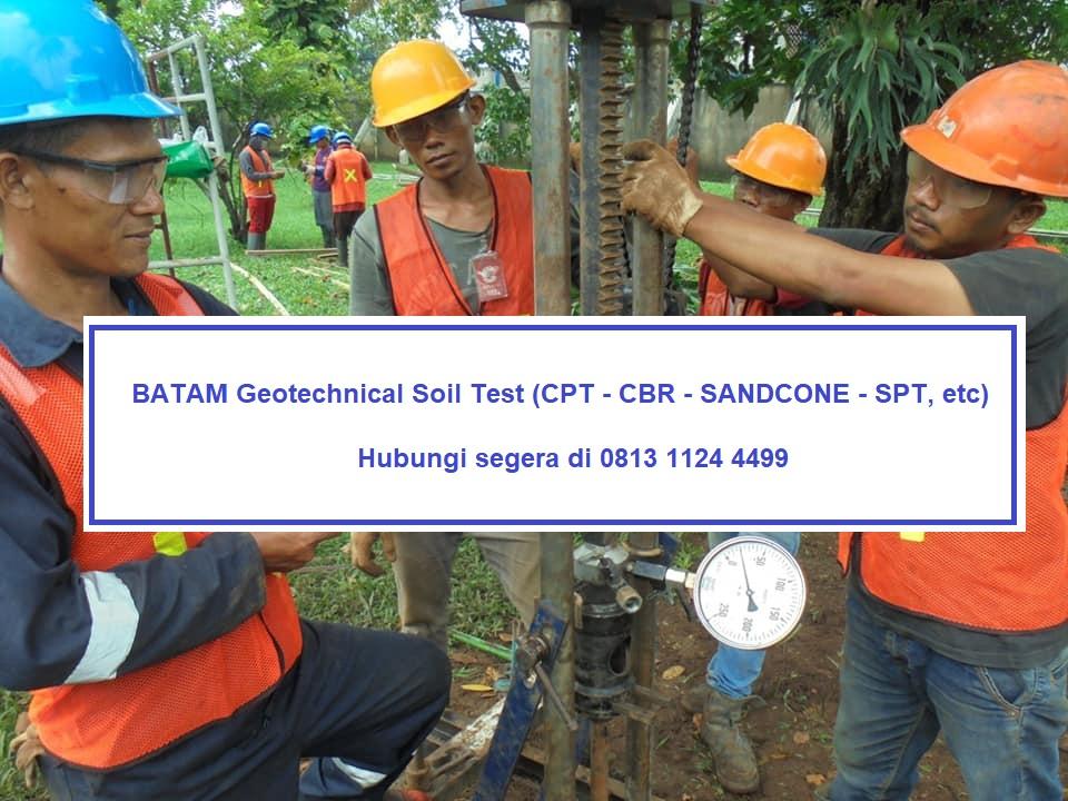 Kota Batam Sondir Cpt Boring Spt Hand Boring Uji Lab Mekanika Tanah Geolistrik Jabodetabekborair Com